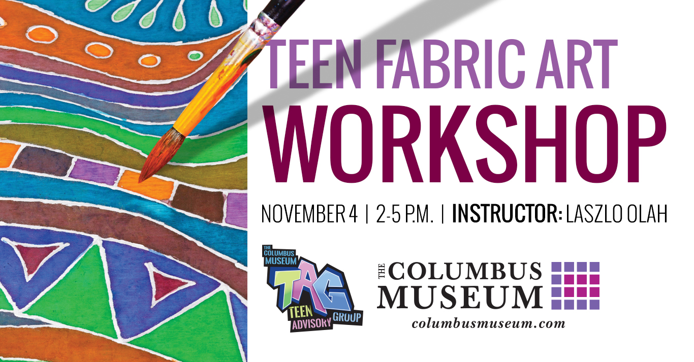 Teen Fabric Art Workshop
