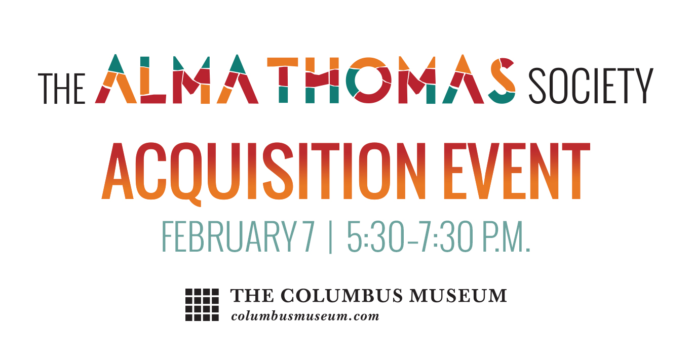 Alma Thomas Acquisition Event