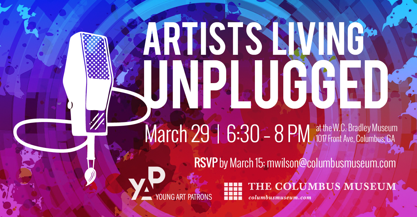 Artists Living Unplugged Hosted by the Young Art Patrons