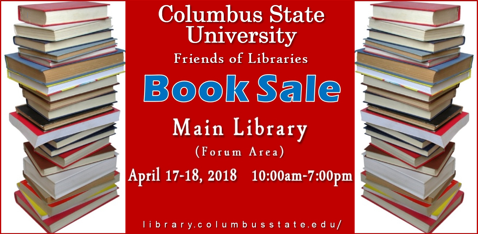 CSU Friends of Libraries Book Sale