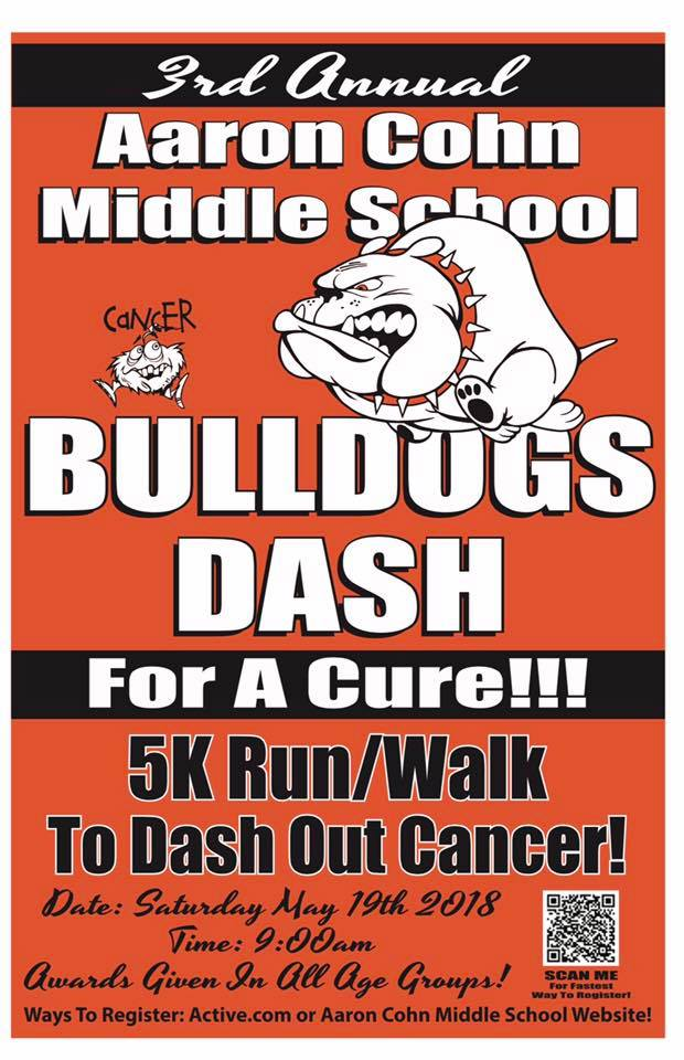 3rd Annual Bulldogs Dash for a Cure