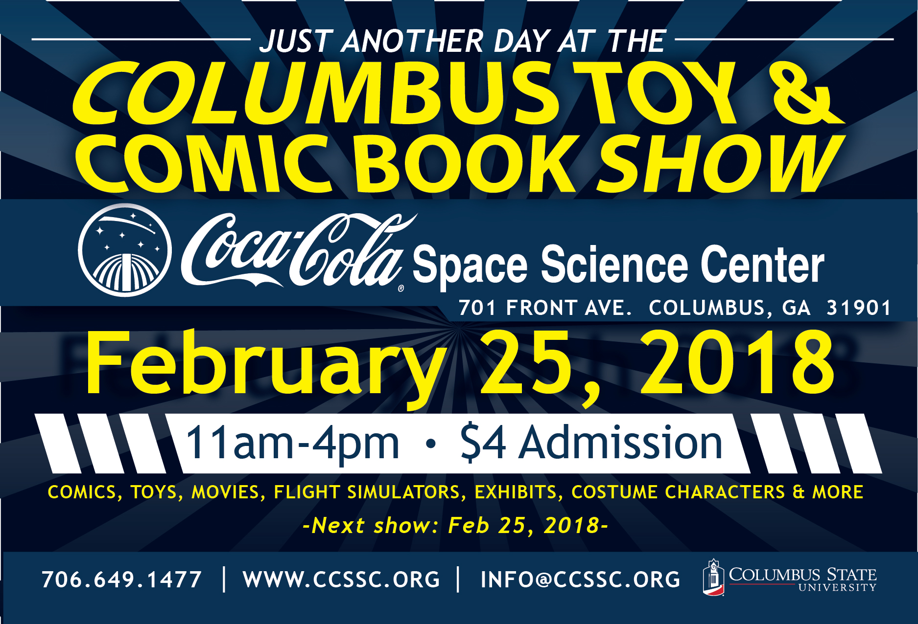 Columbus Comic and Toy Show