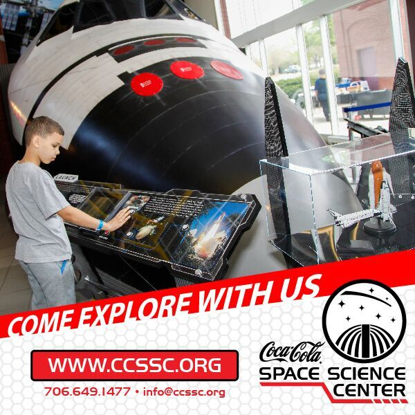 Saturdays at the Coca-Cola Space Science Center