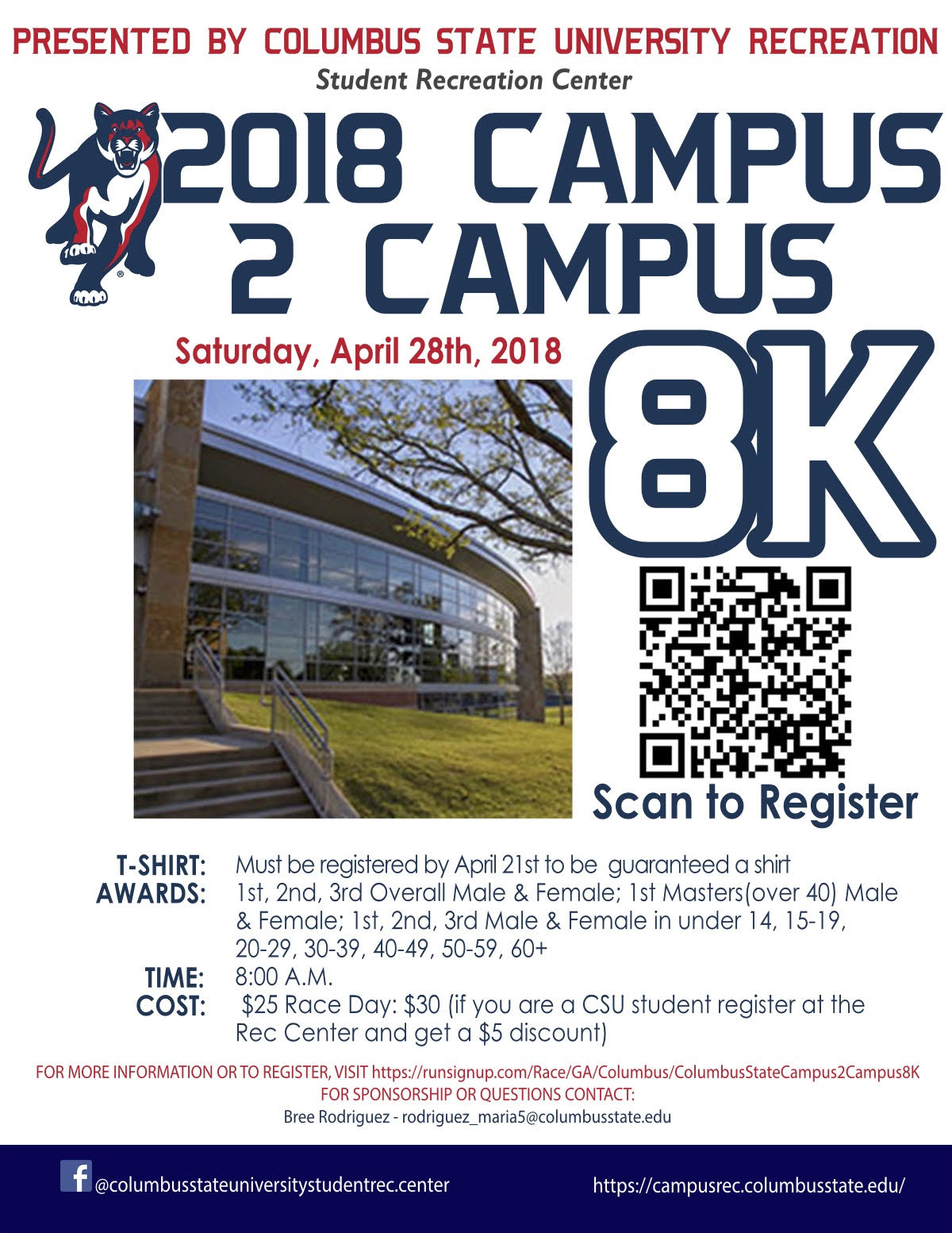 Campus 2 Campus 8K Race