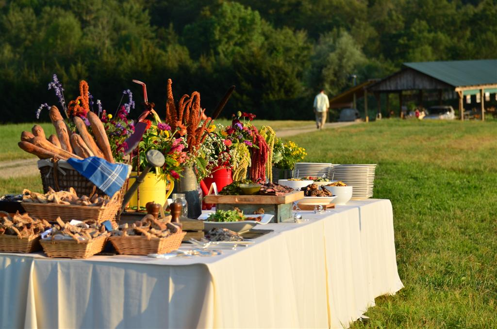 Farm to Table Experience at Historic Red Oak Creek Covered Bridge