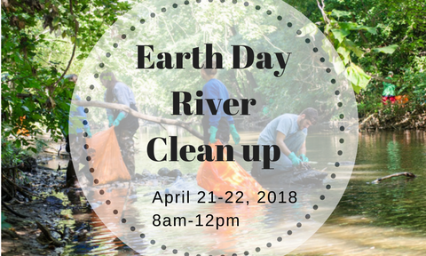 Earth Day River Clean Up