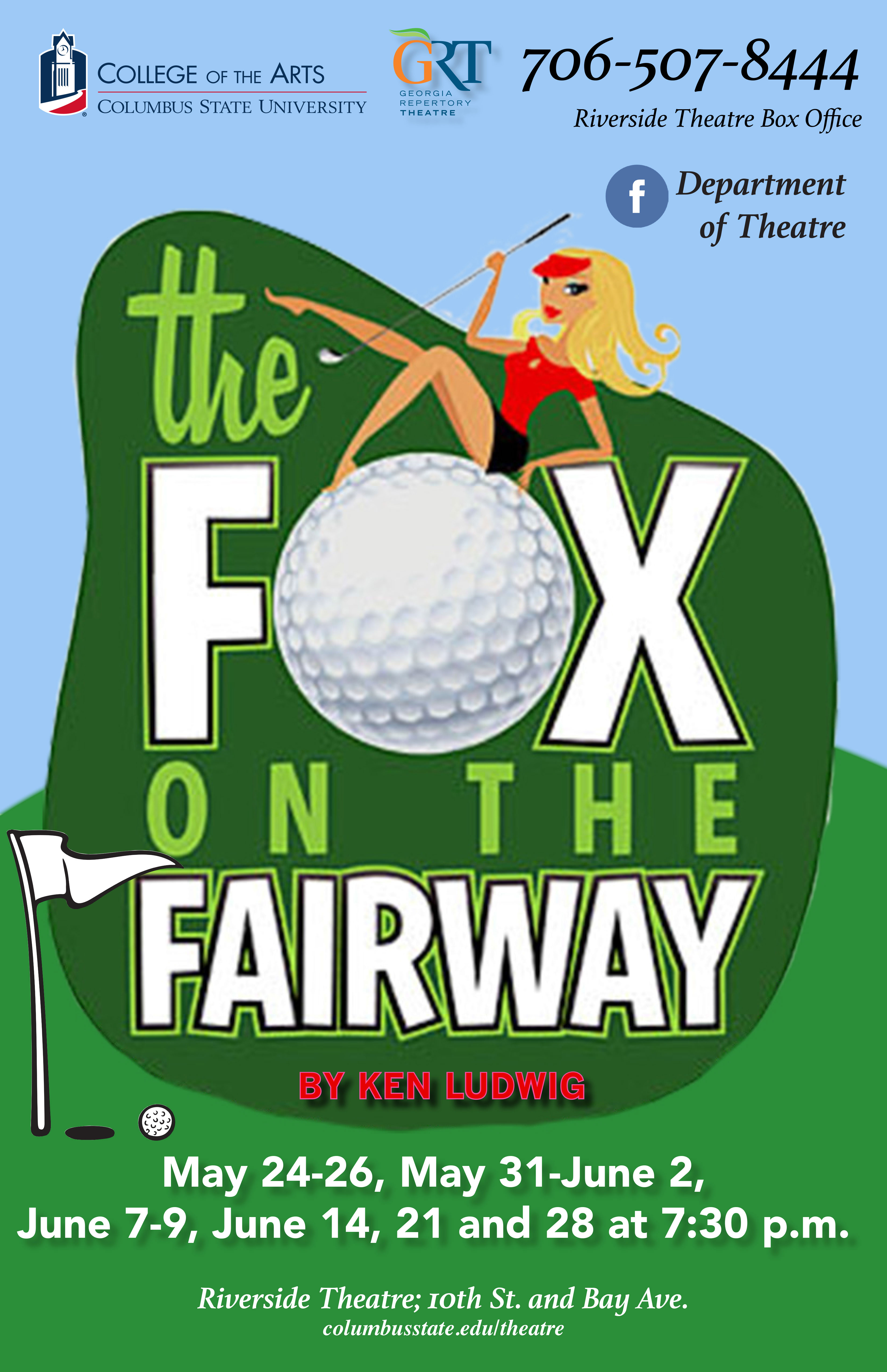 Georgia Repertory Theatre: The Fox on the Fairway