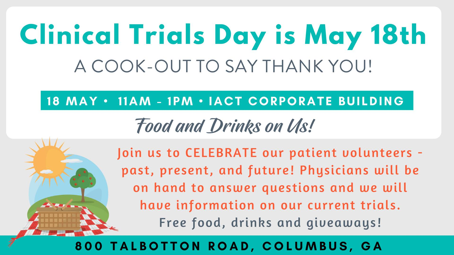 IACT Health Cook-Out