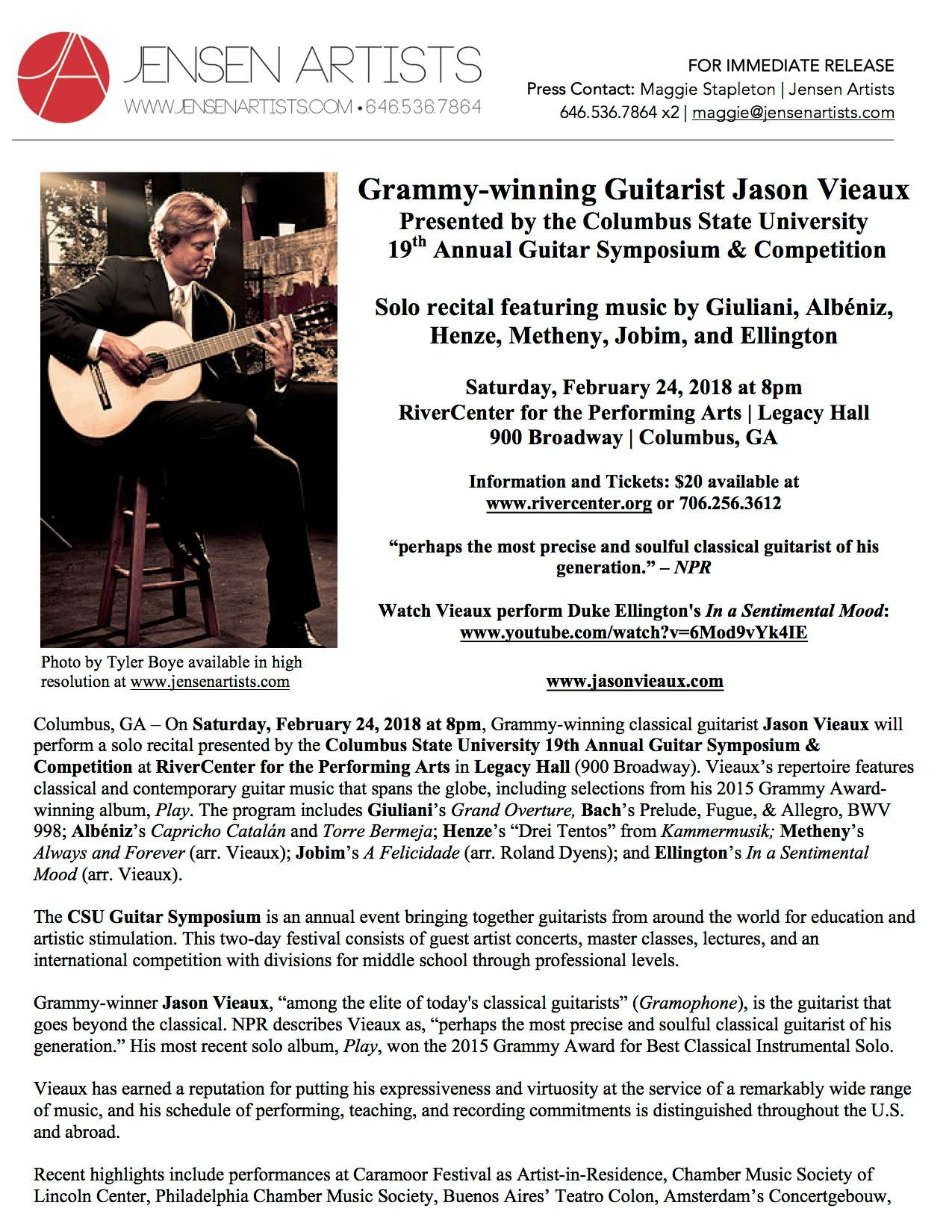 19th Annual Guitar Symposium