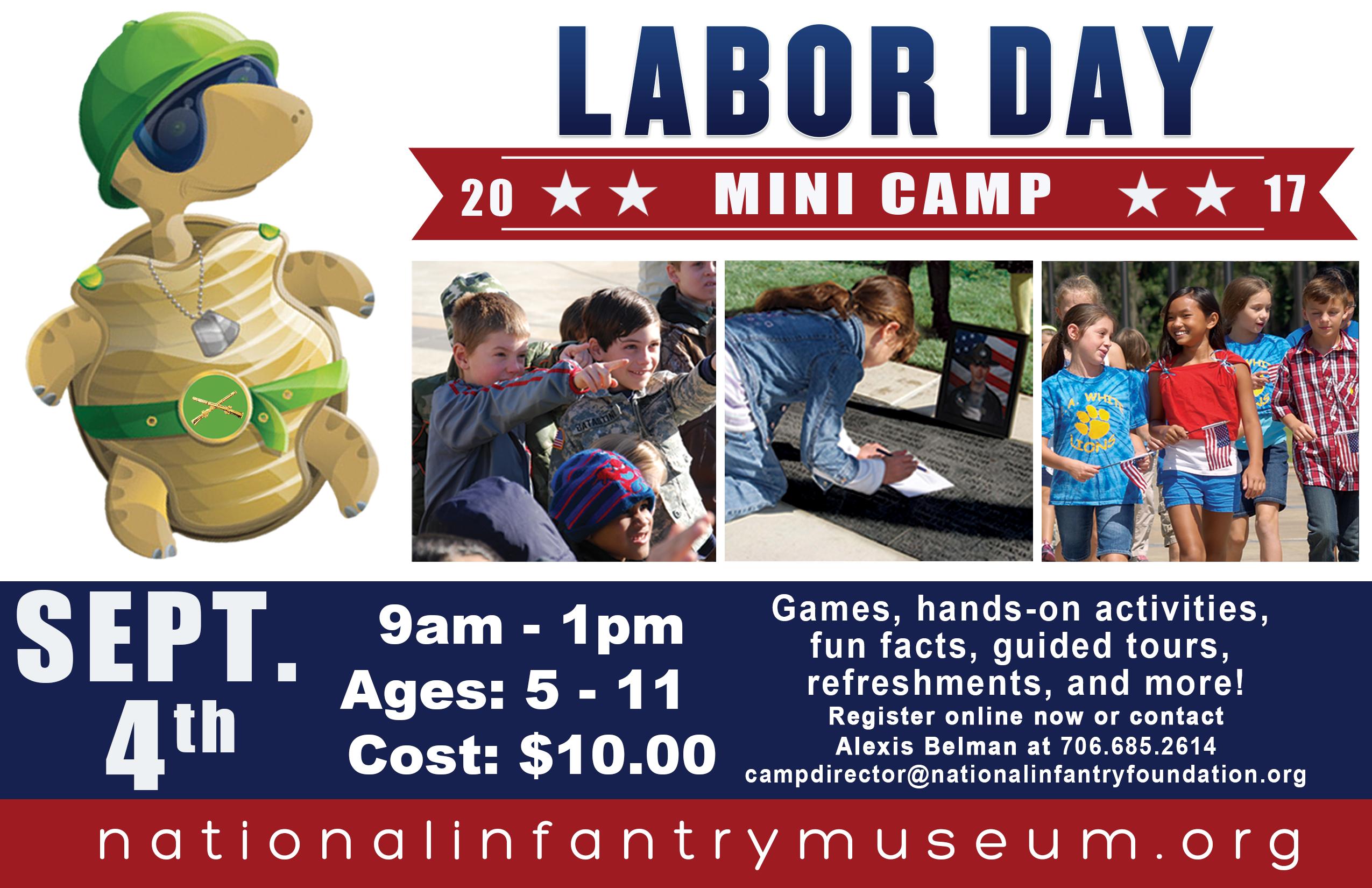 NIM Kids Labor Day Mini Camp