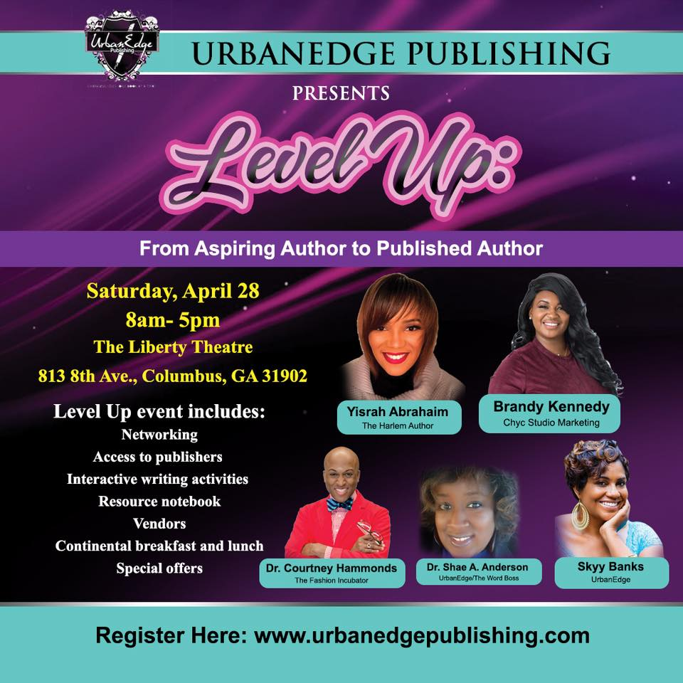 Level Up-Author Workshop