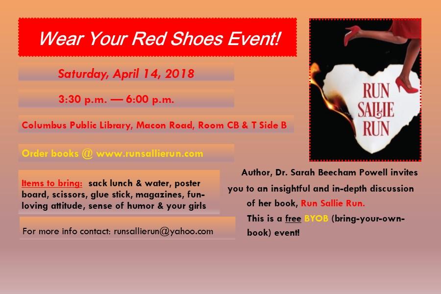 Run Sallie Run Red Shoe Event