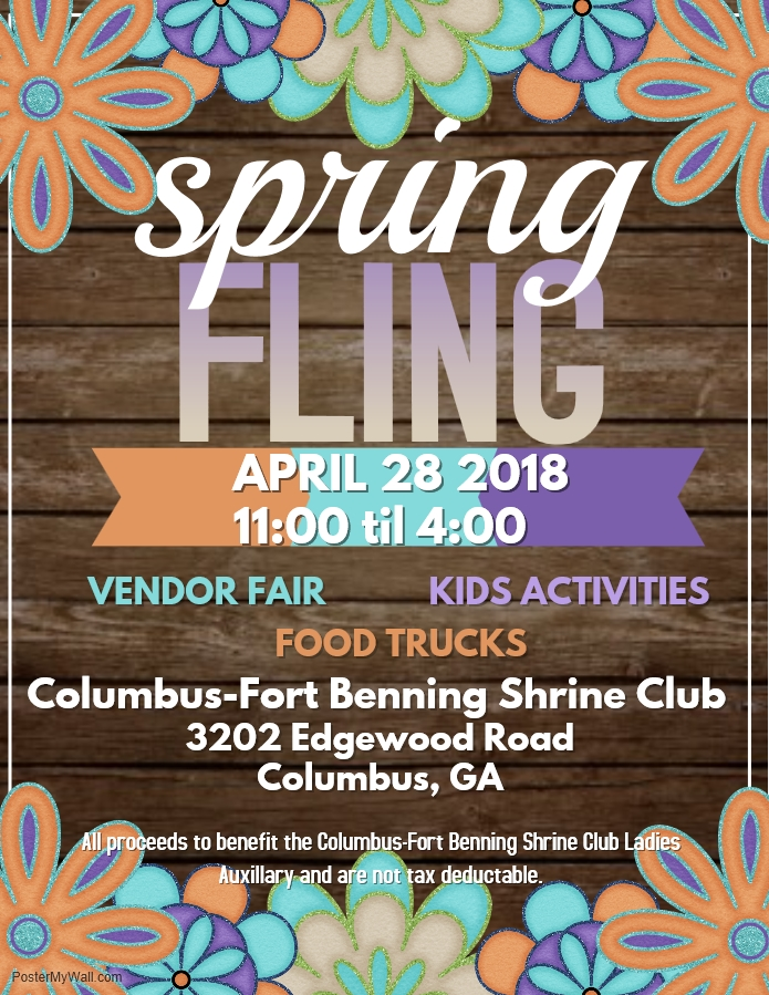 3rd Annual Spring Fling Vendor Fair