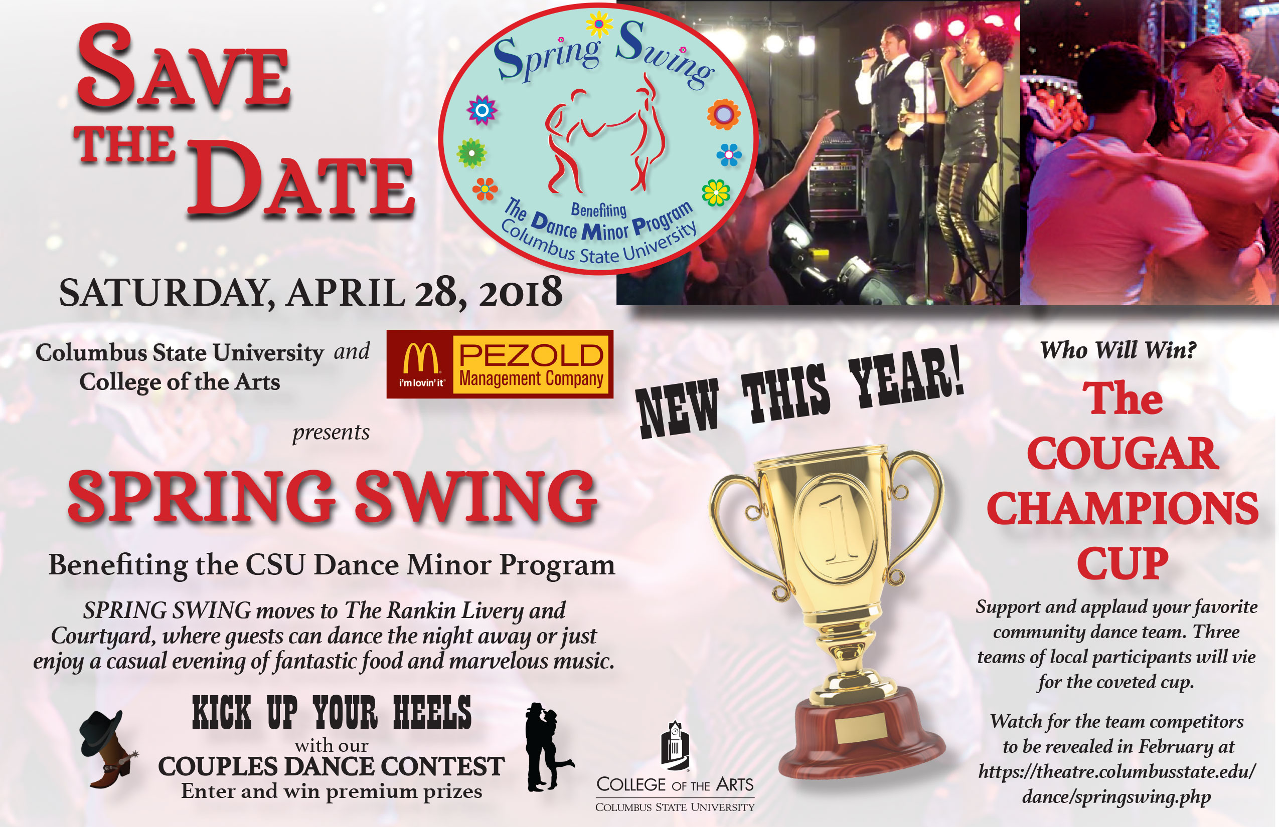 CSU presents Spring Swing!
