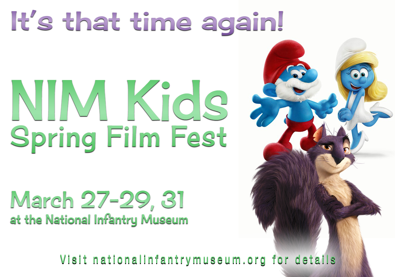 NIM Kid's FREE Spring Break Film Fest!