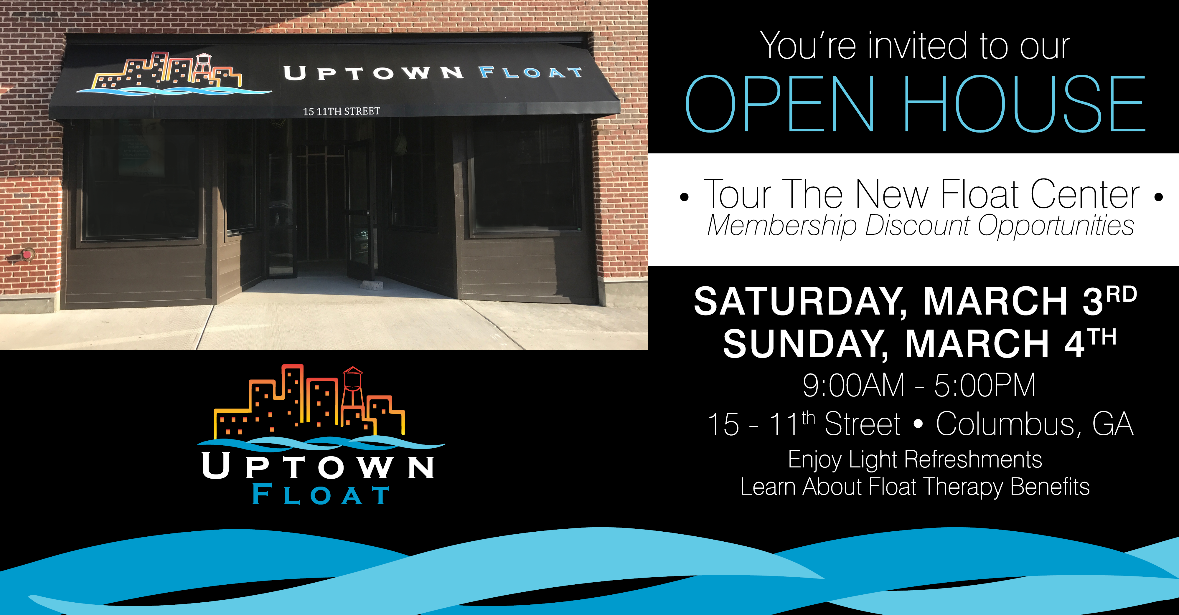 Open House Tours of Uptown Float