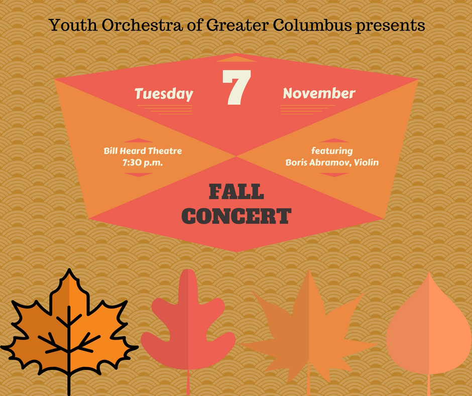 Youth Orchestra Fall Concert