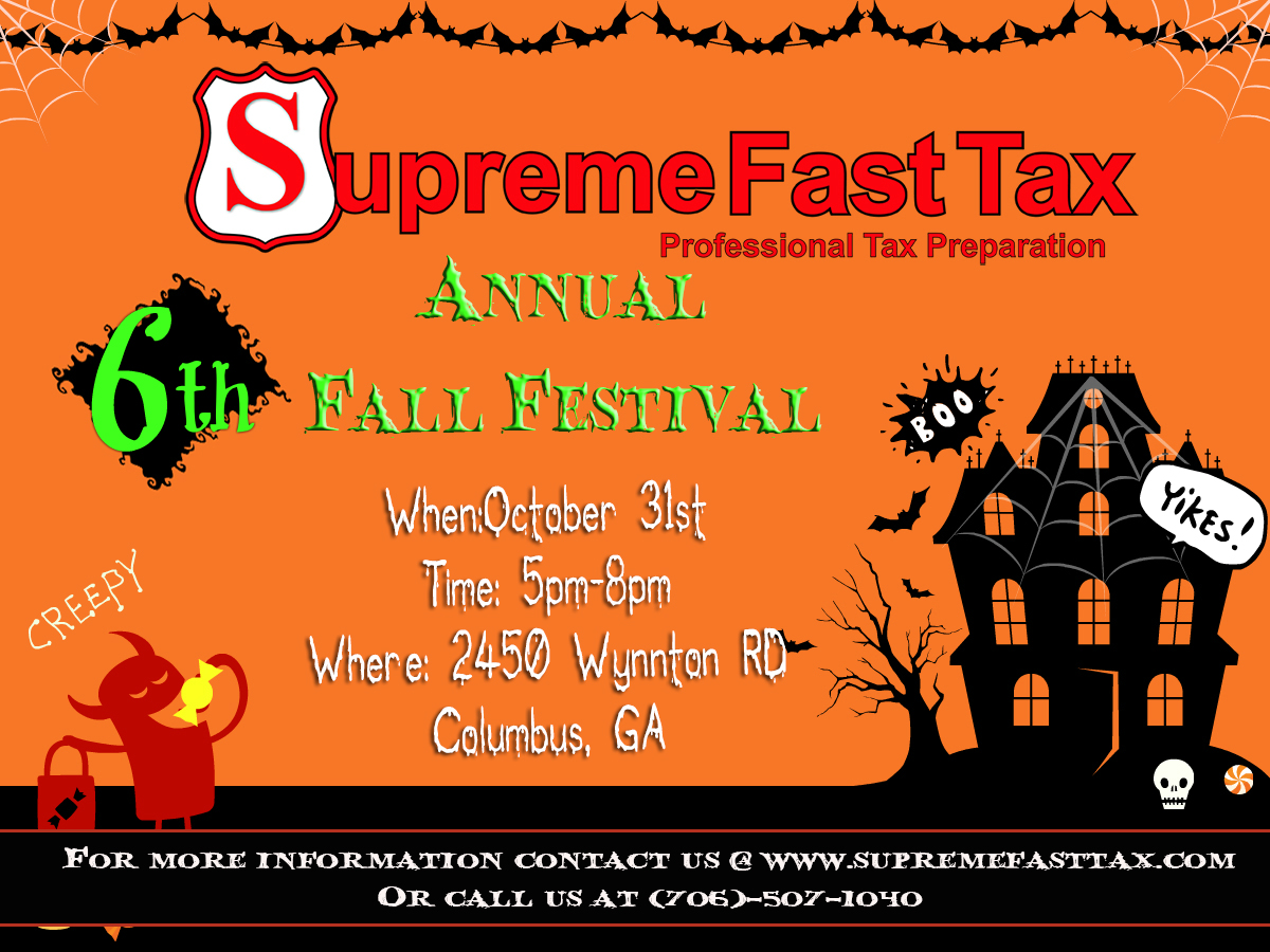 6th Annual Fall Festival