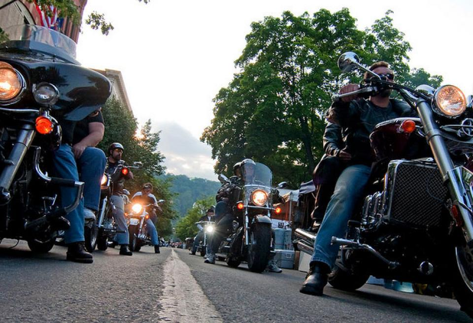 Pine Mountain Motorcyle Benefit Ride and Poker Run