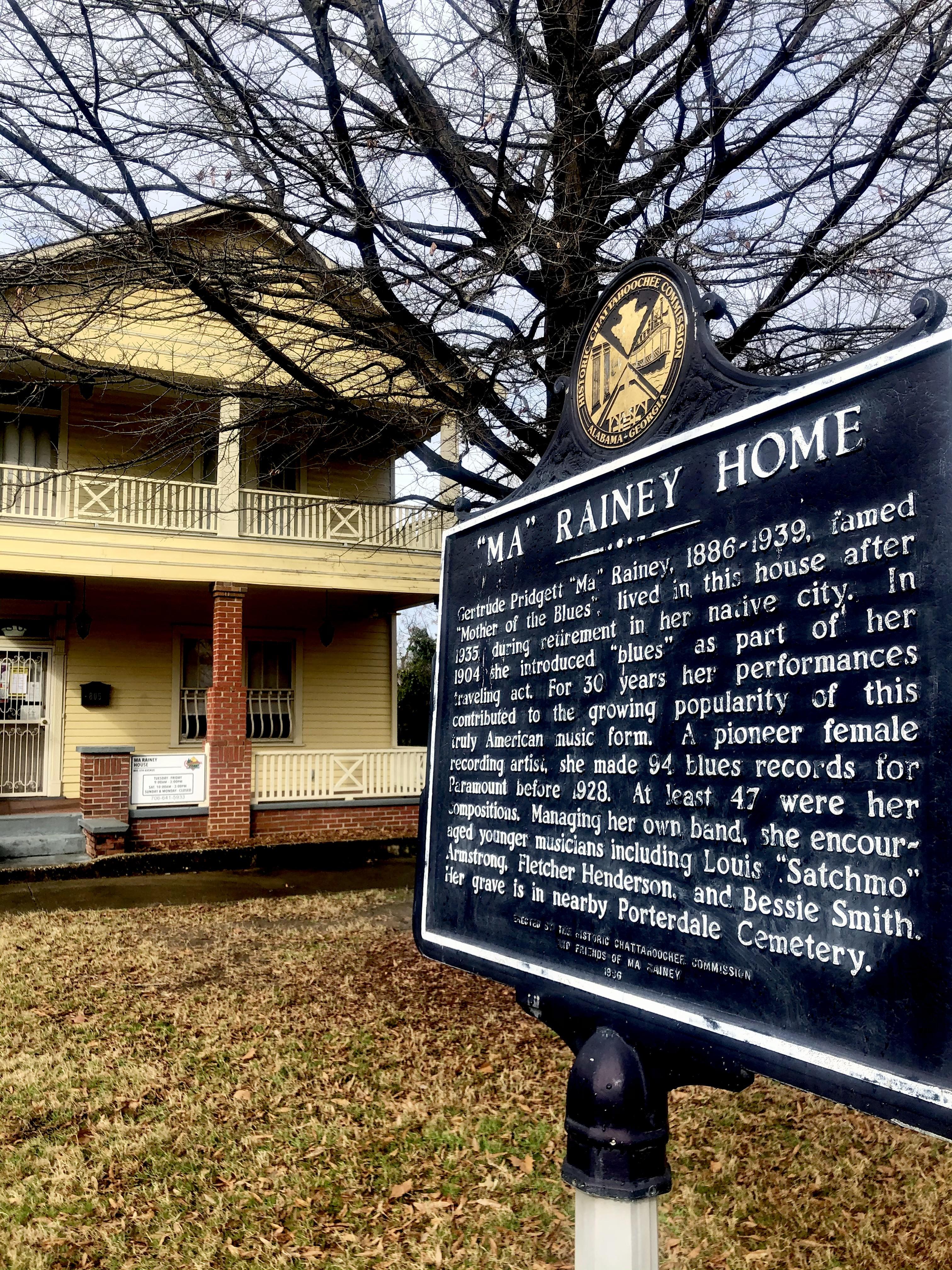 Ma Rainey House & Blues Museum