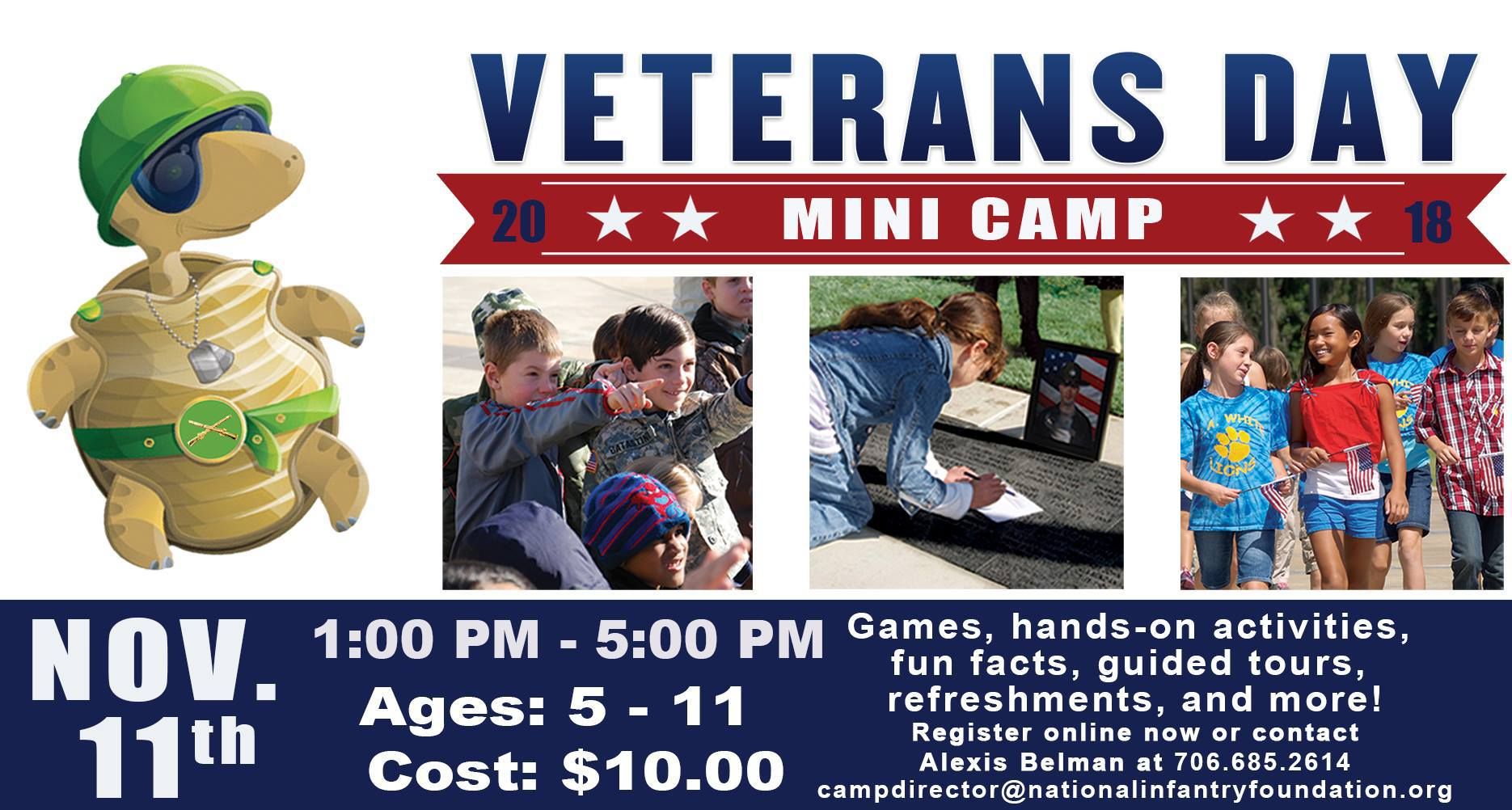 NIM Kids Veterans Day Mini Camp