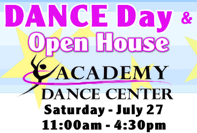 Dance Day & Open House