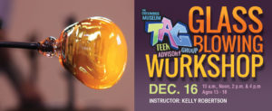 Teen Holiday Ornament Glassblowing Workshop