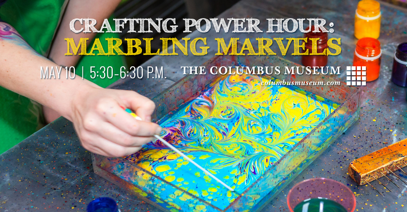 Crafting Power Hour: Marbling Marvels