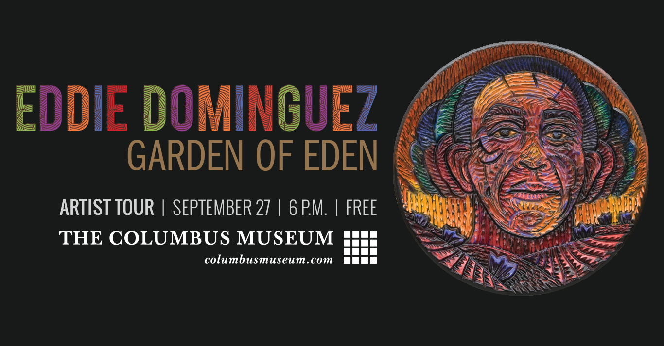Eddie Dominguez Artist Talk and Reception