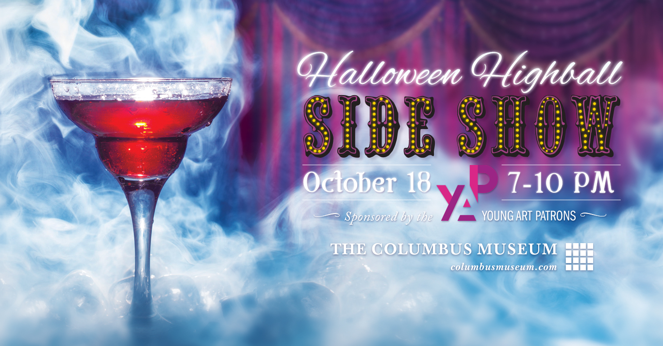 Halloween Highball sponsored by the Young Art Patrons