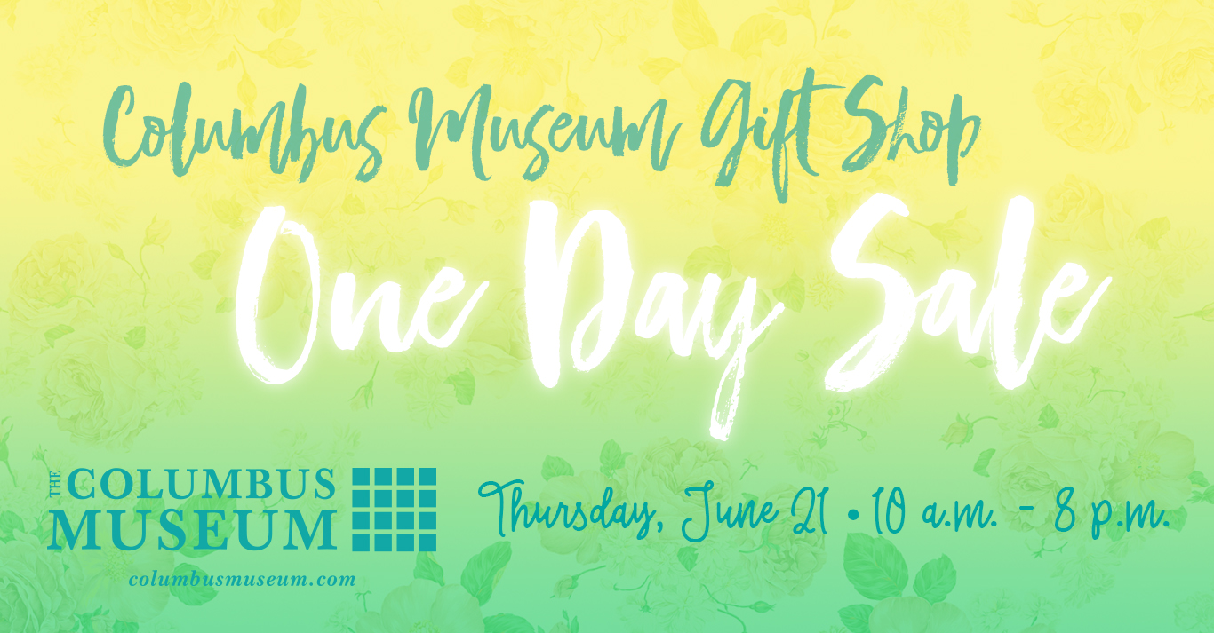 Museum Shop One Day Sale