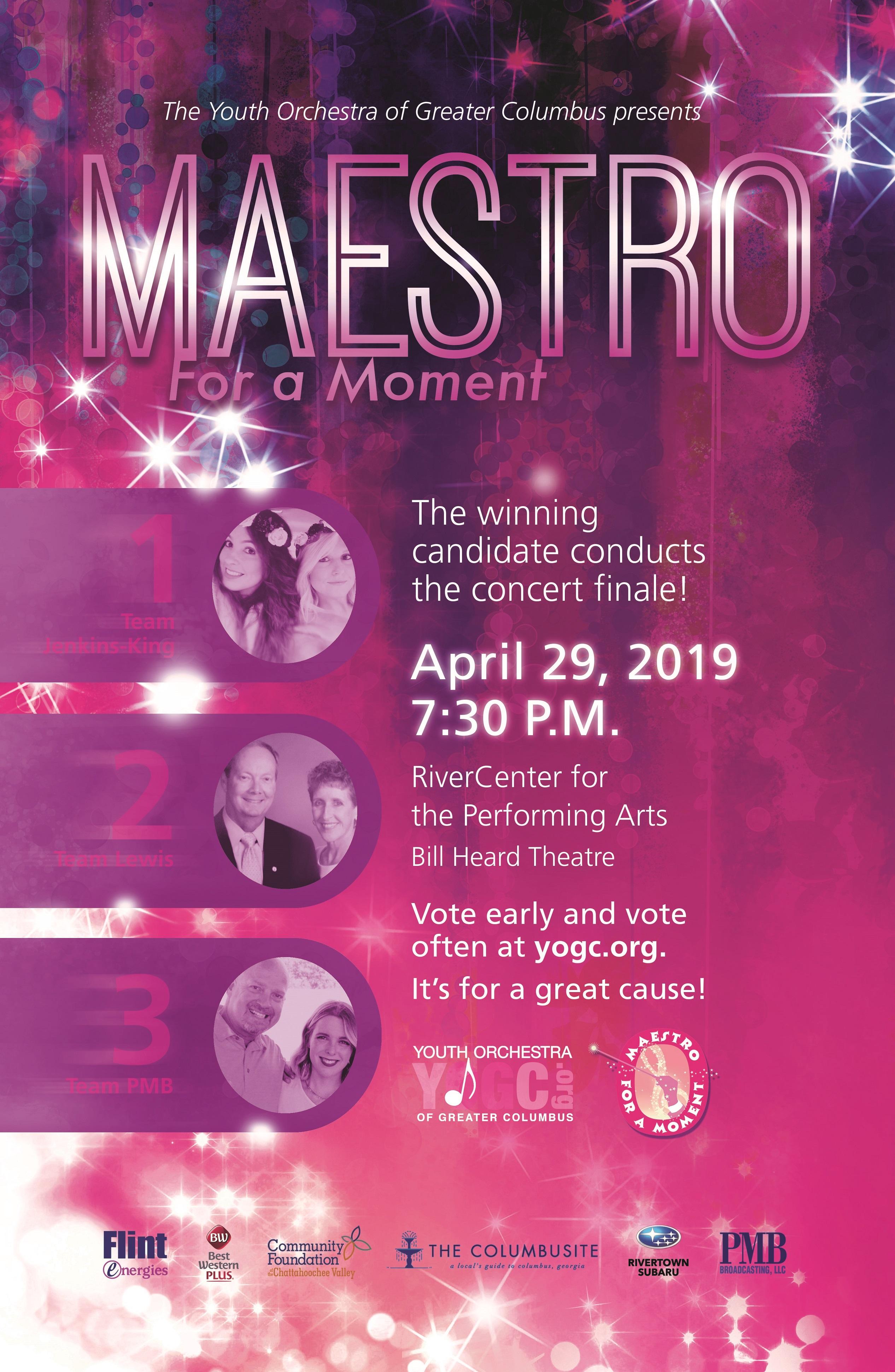 YOGC Maestro for a Moment Concert