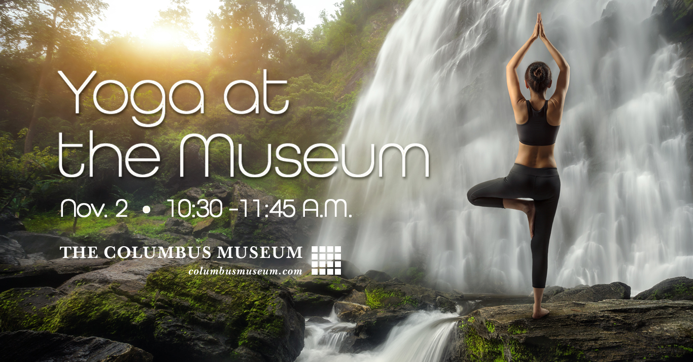 Yoga at the Columbus Museum