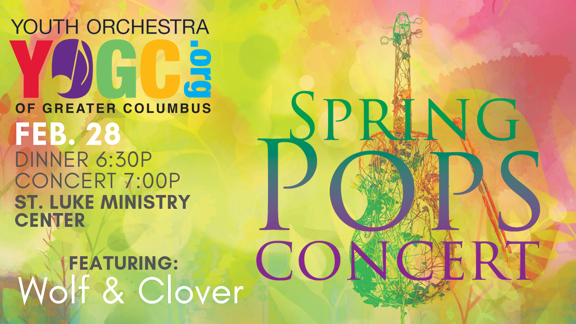 YOGC Spring Pops Concert feat. Wolf & Clover