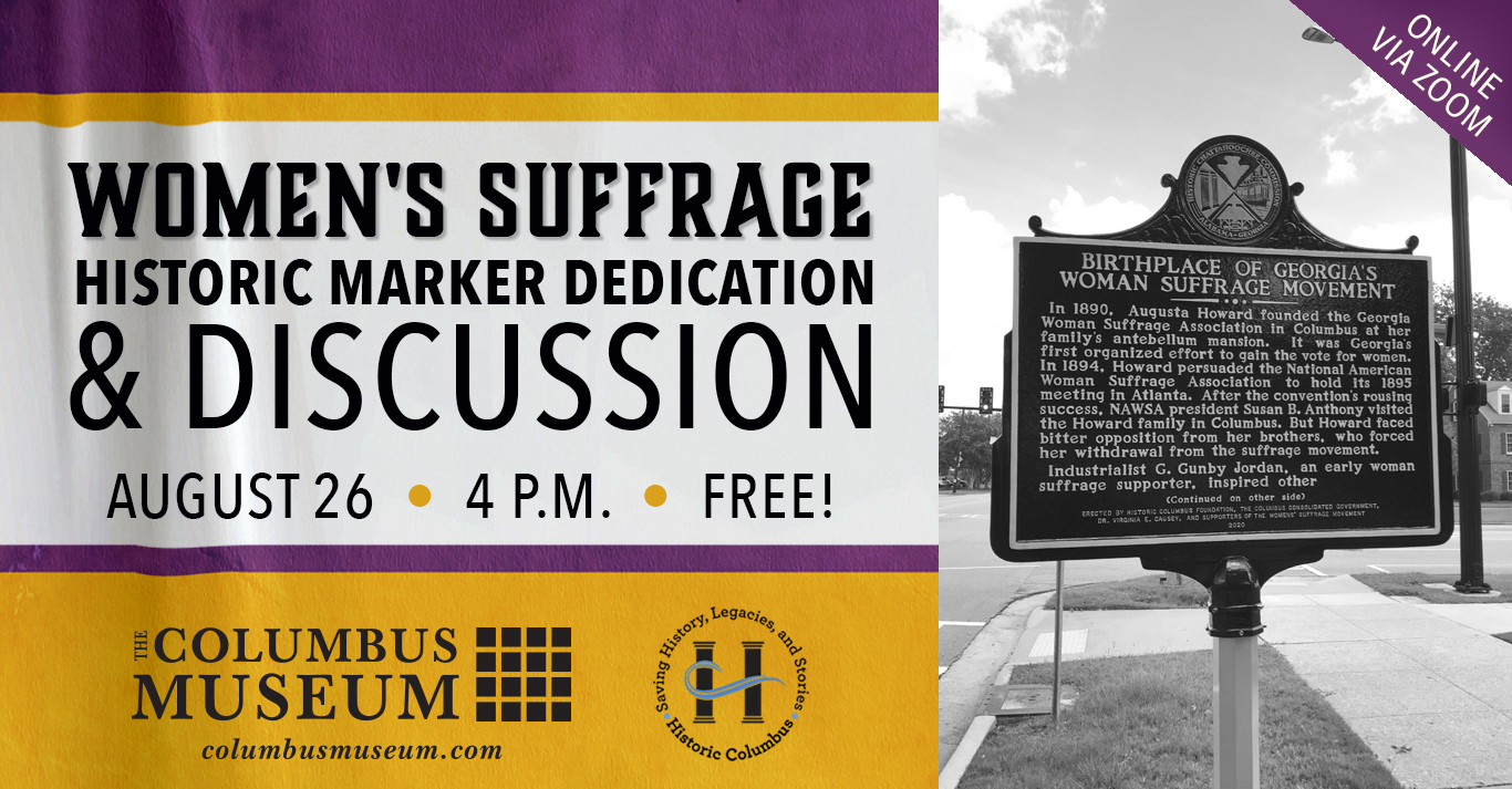 Women's Suffrage Marker Dedication and Discussion