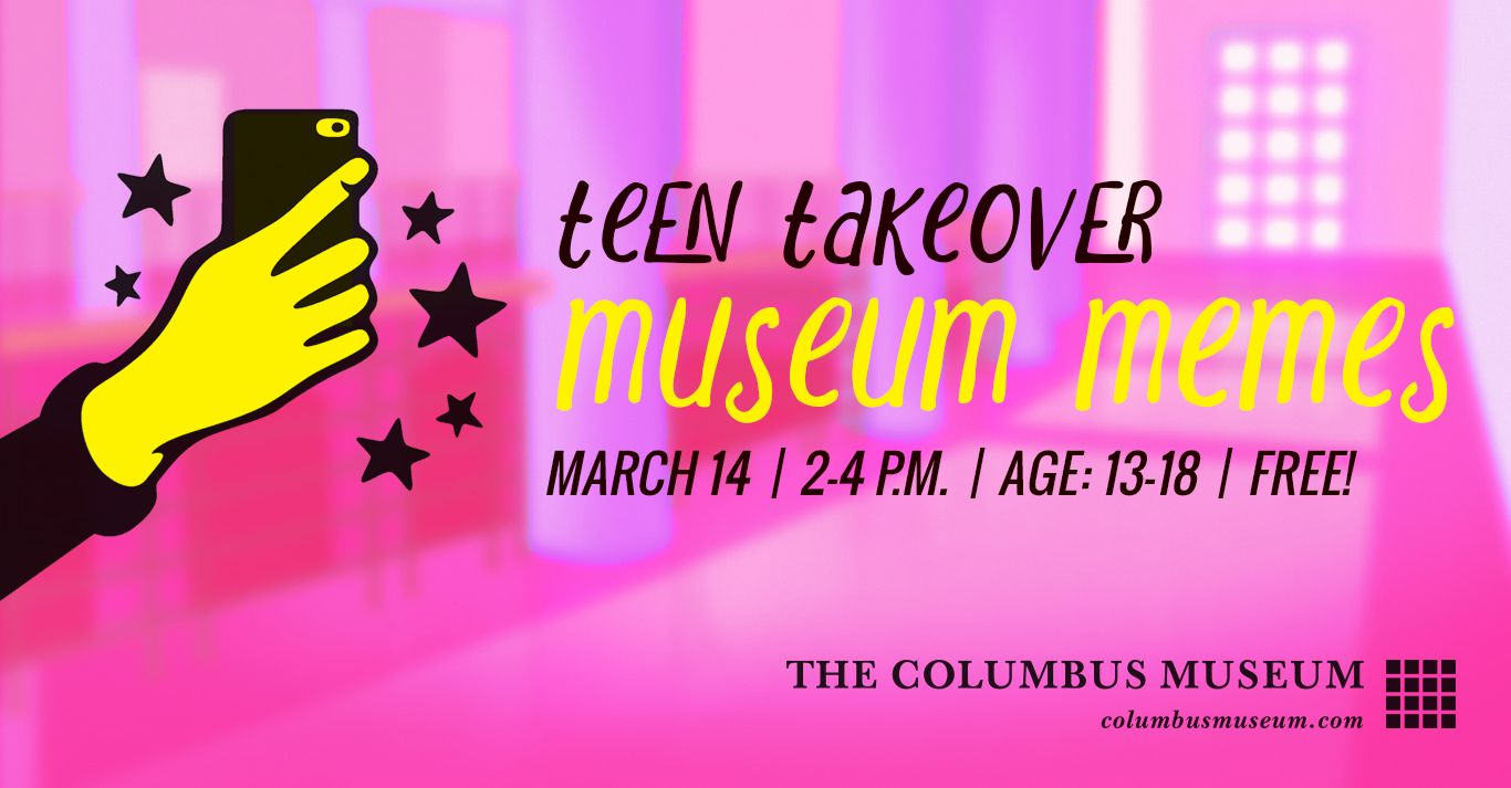 Teen Takeover: Museum Memes