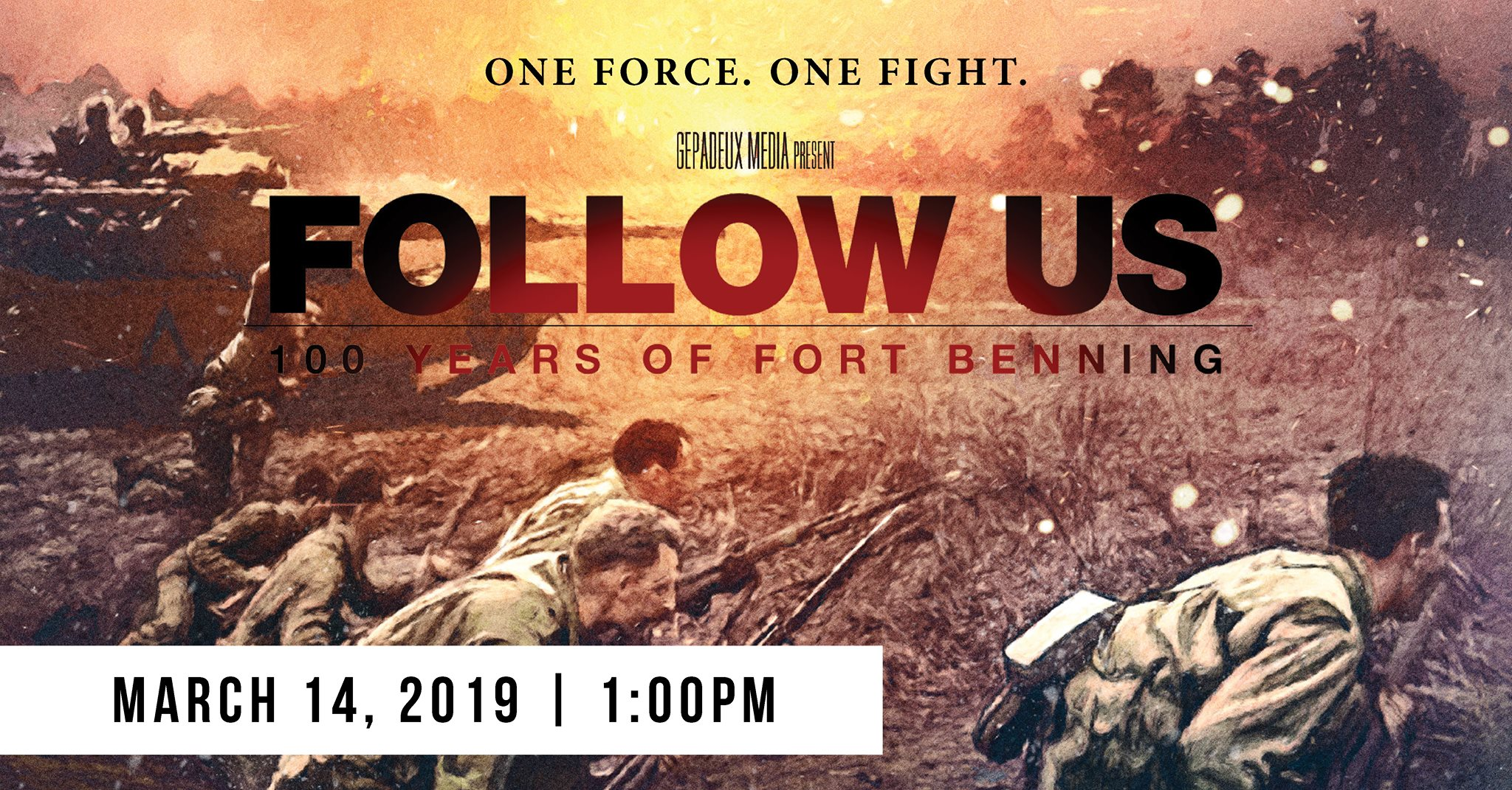 """Follow Us: 100 Years of Fort Benning"""