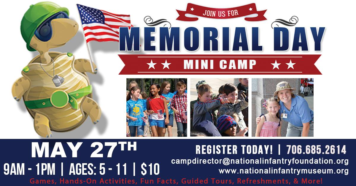 Memorial Day mini-camp at the National Infantry Museum