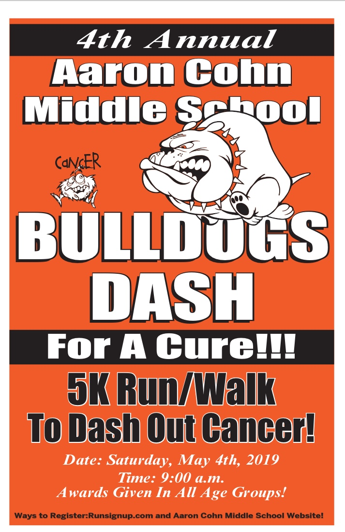 Bulldog Dash for a Cure 5k