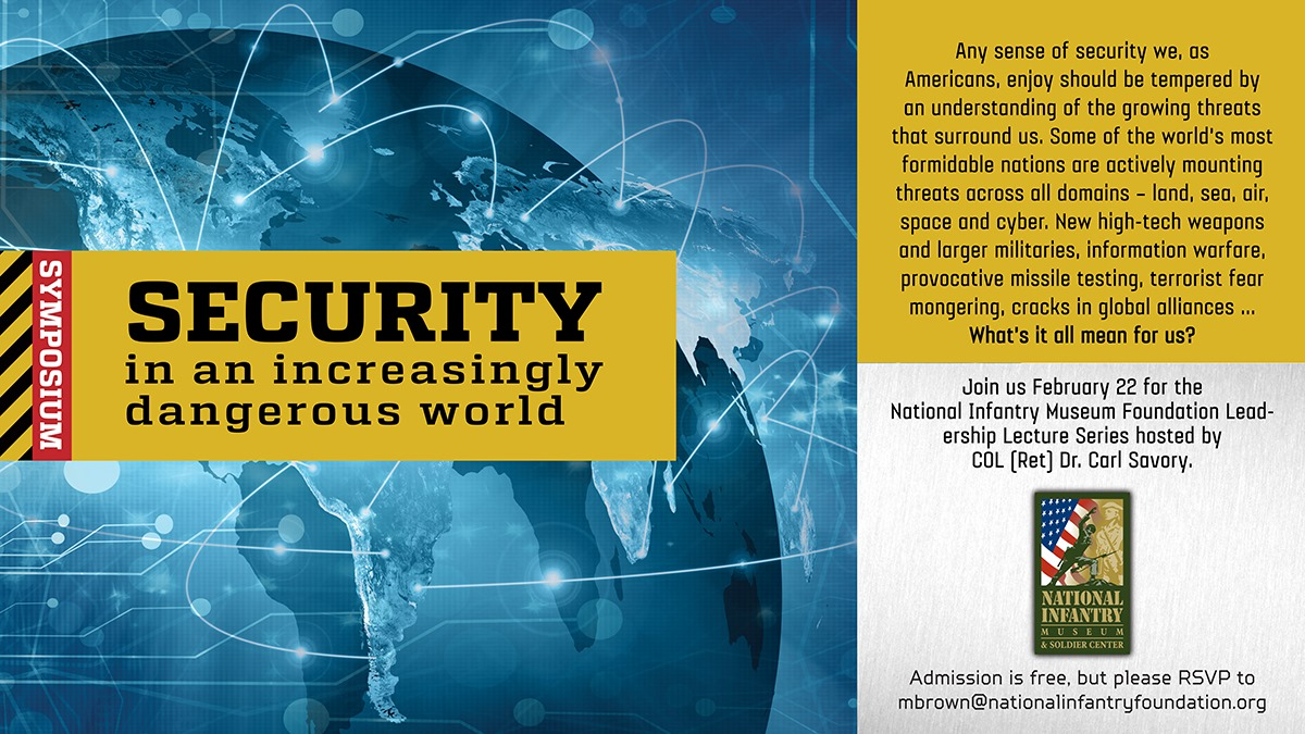 Security In An Increasing Dangerous World Symposium