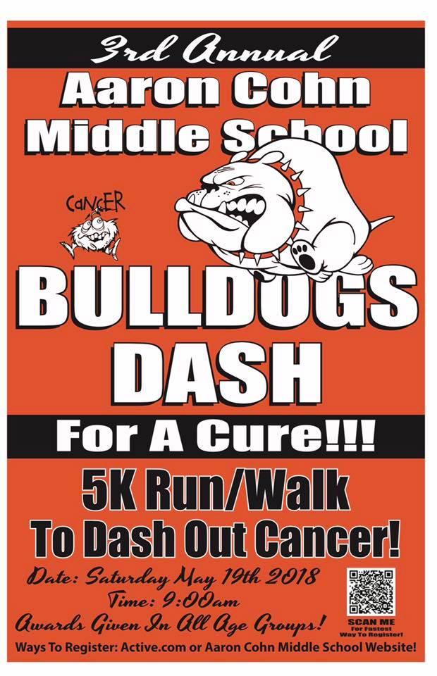 3rd Annual Bulldogs Dash for a Cure