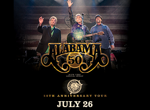 Alabama 50th Anniversary Tour!  With Special Guest John Michael Montgomery