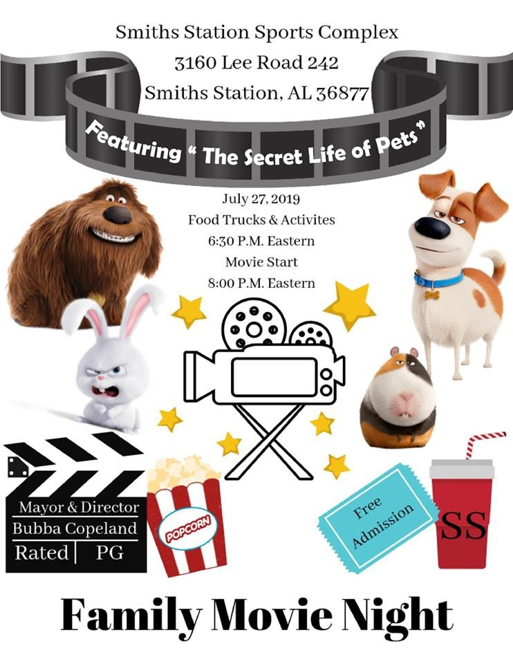 City of Smiths Station Family Movie Night
