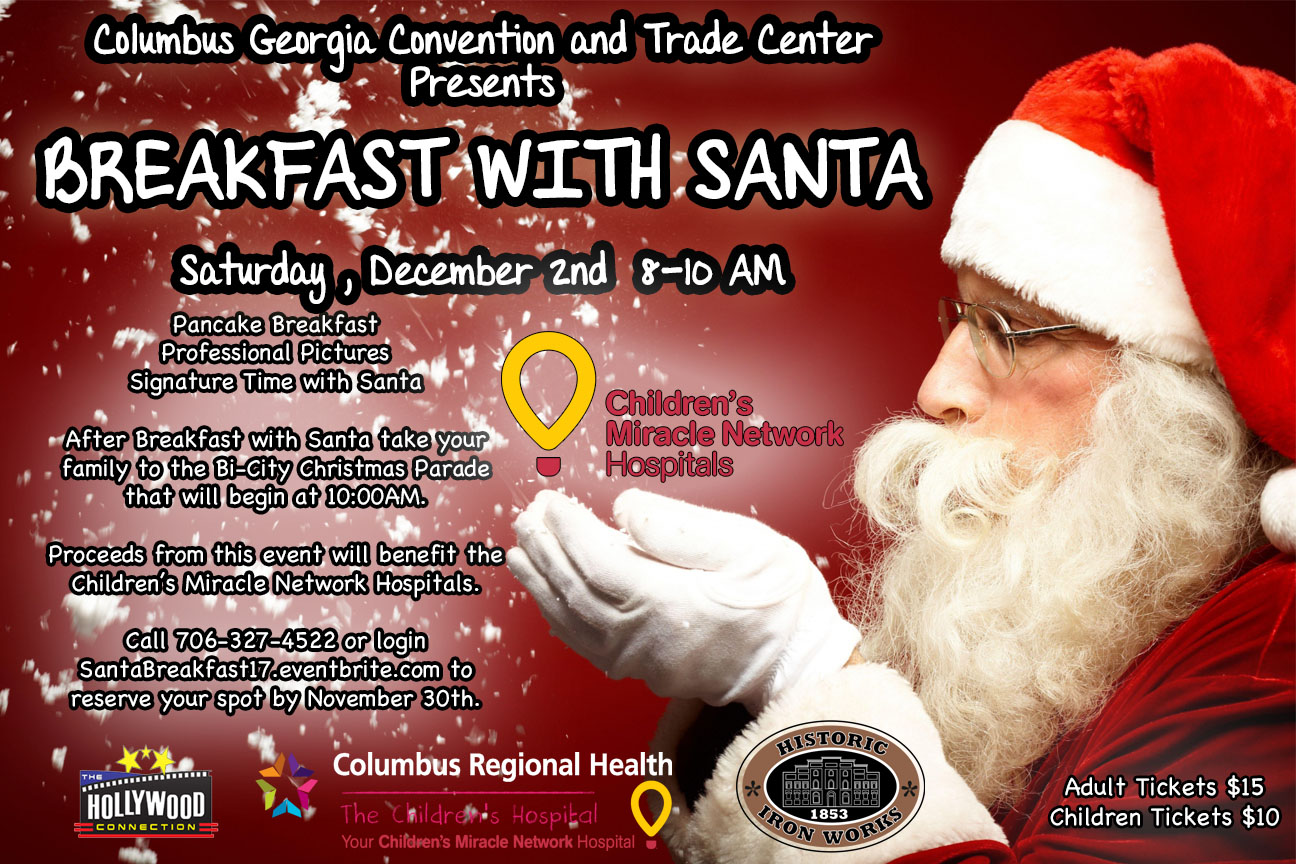 Trade Center's Breakfast with Santa