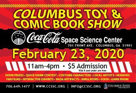 Columbus Toy & Comic Book Show!