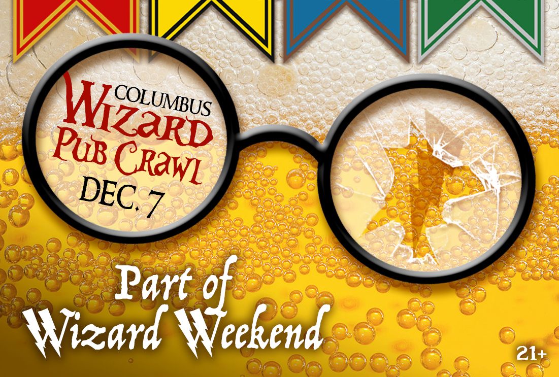 WIZARD PUB CRAWL (21+)