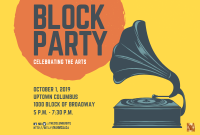 Arts Block Party Celebrating National Arts & Humanities Month