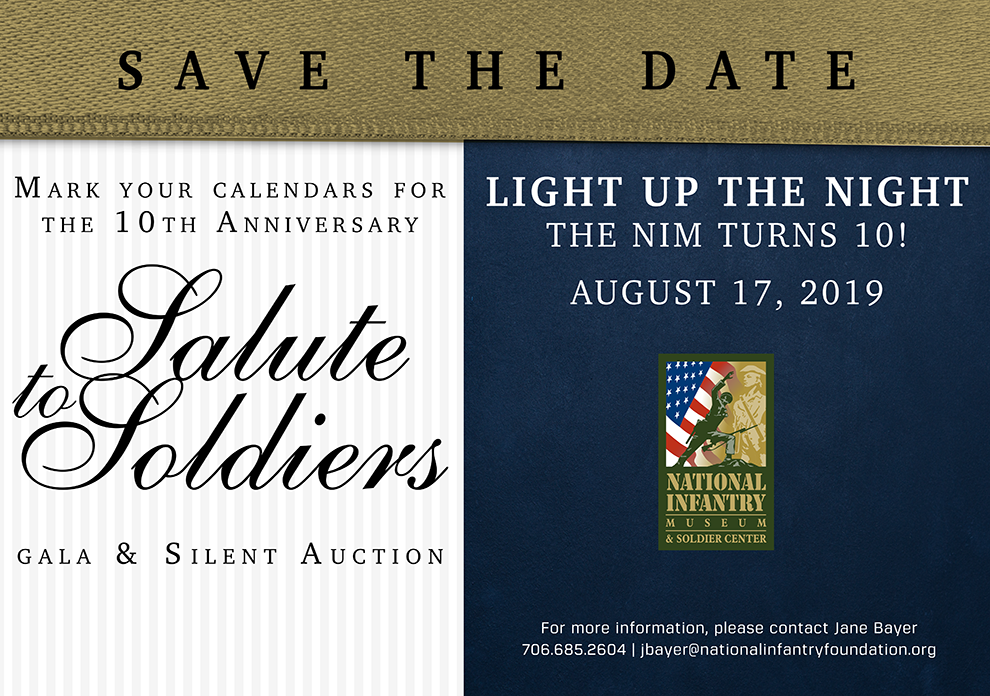 The 10th Annual Salute to Soldiers Gala and Silent Auction