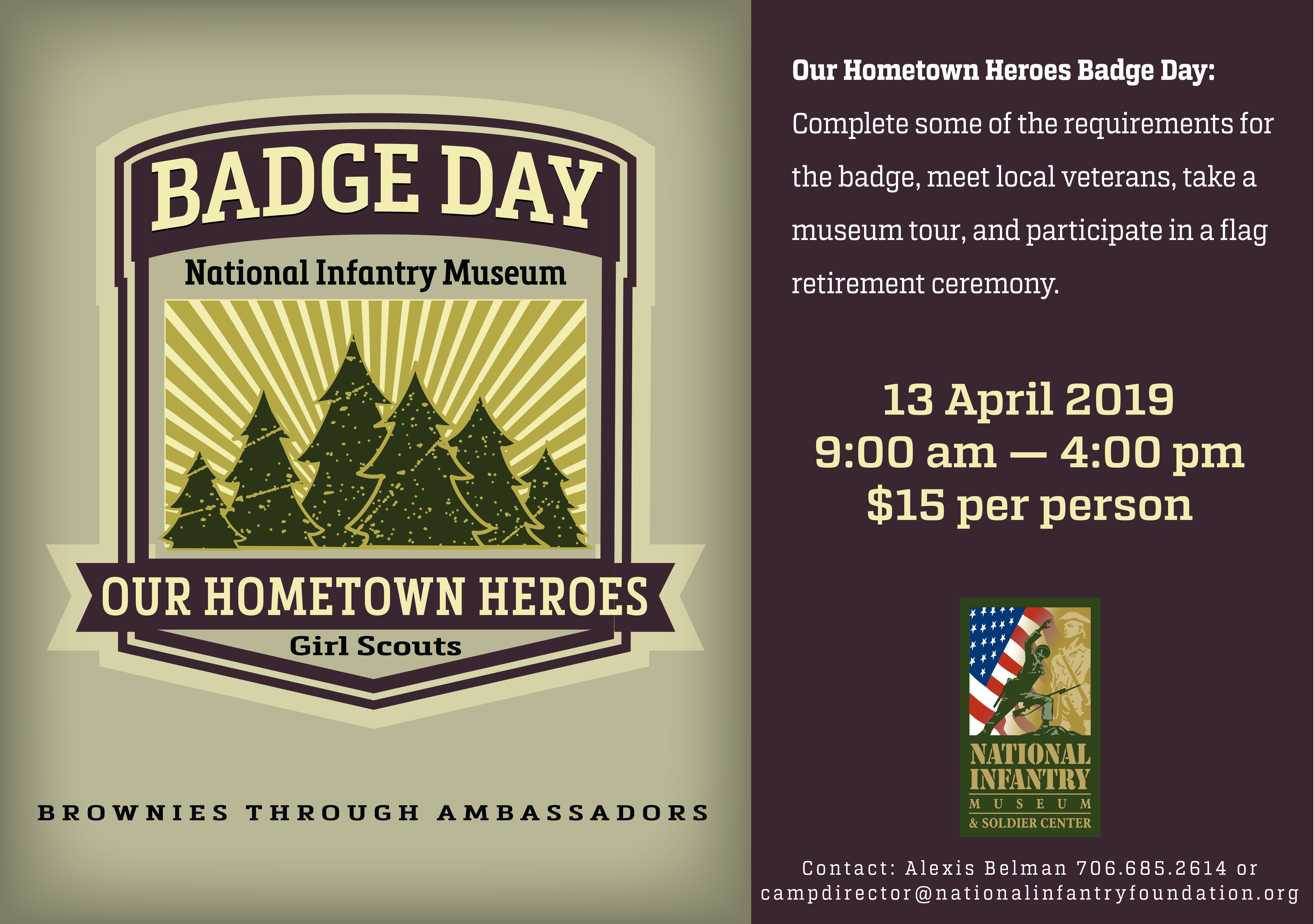 Our Hometown Heros Badge Day