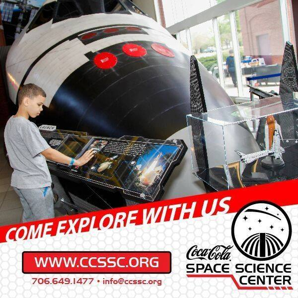 Saturdays at the Coca-Cola Space Science Center